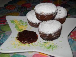 Снимка 1 от рецепта за Кексчета с мармалад от сини сливи