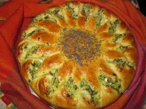 Снимка 1 от рецепта за Питка със спанак