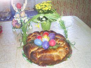 Снимка 1 от рецепта за Козунак без яйца