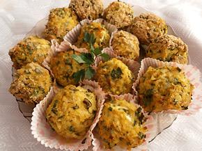 Снимка 1 от рецепта за Кюфтета от тиквички и булгур