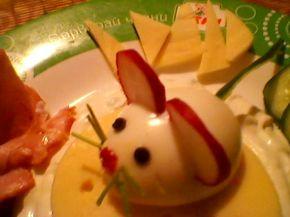 Снимка 1 от рецепта за Мишлета от варени яйца