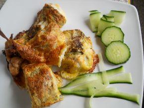 Снимка 1 от рецепта за Паниран хек на фурна