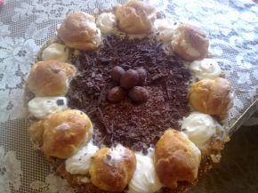Снимка 1 от рецепта за Еклерова торта