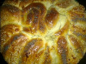 Снимка 1 от рецепта за Пита с кашкавал