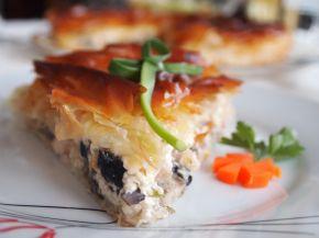 Снимка 1 от рецепта за Солен пай