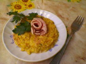 Снимка 1 от рецепта за Яйца с шунка и лук