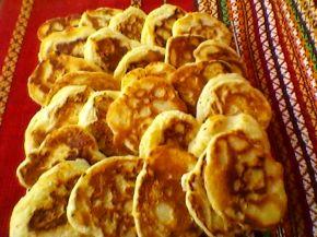 Снимка 1 от рецепта за Тиганички  със сирене и кашкавал