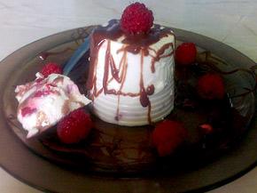 Снимка 1 от рецепта за Панакота с малини
