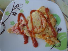 Снимка 1 от рецепта за Пица от крекери