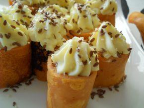 Снимка 1 от рецепта за Палачинки с доматено пюре и пълнеж от картофено пюре и сирене