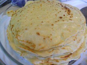 Снимка 1 от рецепта за Палачинки с газирана вода