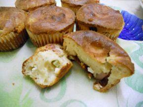 Снимка 1 от рецепта за Солени мъфини с шунка и кисели краставички