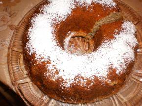 Снимка 1 от рецепта за Ябълков кекс с орехи