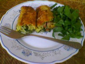 Снимка 1 от рецепта за Рулца от картофи с плънка
