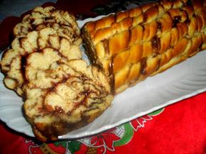 Снимка 1 от рецепта за Мраморно руло