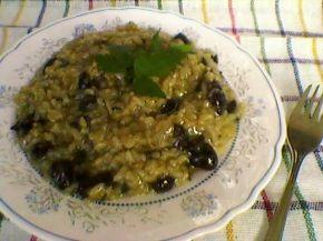 Снимка 1 от рецепта за Ориз с маслини, лук и чубрица