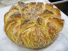 Снимка 1 от рецепта за Празнична погача `Коледна звезда`