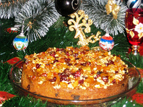 Снимка 1 от рецепта за Ароматен коледен сладкиш