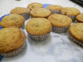 Снимка 1 от рецепта за Кексчета със сладко от смокини