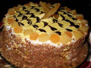 Снимка 1 от рецепта за Торта `Изкушение с ананас`