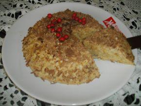 Снимка 1 от рецепта за Бърза торта с ябълки без печене