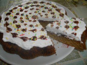 Снимка 1 от рецепта за Сладкиш за двама