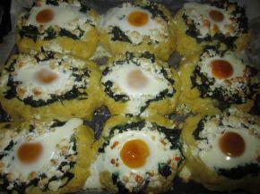 Снимка 1 от рецепта за Пролетни гнезда