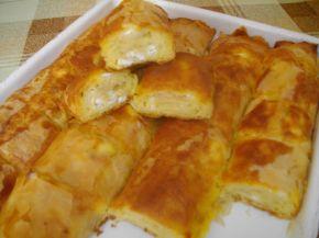 Снимка 1 от рецепта за Баница с царевично брашно - II вариант