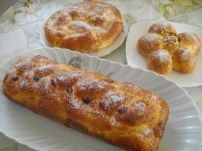 Снимка 1 от рецепта за Козунак и питки с кисело мляко