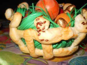 Снимка 1 от рецепта за Плетена кошничка