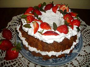 Снимка 1 от рецепта за Кекс с ягоди