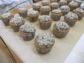 Снимка 1 от рецепта за Орехови мъфини