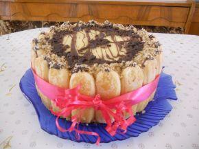 Снимка 1 от рецепта за Бишкотена ванилова торта с банани