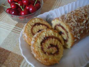 Снимка 1 от рецепта за Руло с череши