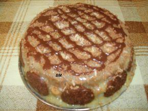 Снимка 1 от рецепта за Тортичка с кроасани