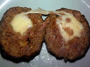 Снимка 1 от рецепта за Пържени кюфтенца с кашкавал