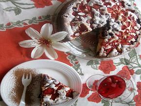 Снимка 1 от рецепта за Плодов сладкиш `Ден и нощ`