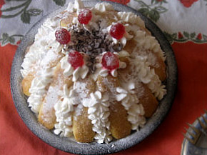 Снимка 1 от рецепта за Плодова шарлота