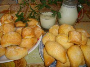 Снимка 1 от рецепта за Бабините курабии и ментов айрян