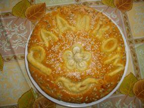 Снимка 1 от рецепта за Питка със сирене Радиком