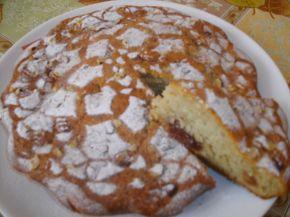 Снимка 1 от рецепта за Плодов сладкиш със сладко от череши