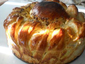Снимка 1 от рецепта за Пухкава питка с кисело мляо