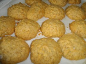 Снимка 1 от рецепта за Здравословни овесени бисквитки с мед