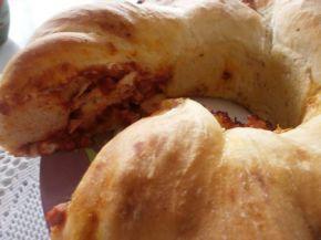 Снимка 1 от рецепта за Хляб-пица