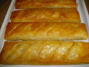 Снимка 1 от рецепта за Ябълков щрудел с лешници