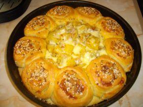 Снимка 1 от рецепта за Пълна кашкавалена пита