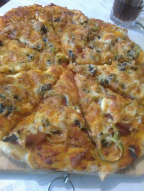 Снимка 1 от рецепта за Пикантна пица