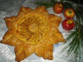 Снимка 1 от рецепта за Ябълков пай с канела