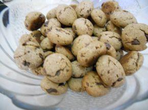 Снимка 1 от рецепта за Пълнозърнести сладки с шоколад, мед и орехи
