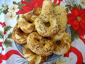 Снимка 1 от рецепта за Постни содени гевреци